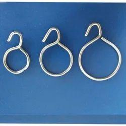 Iron Curtain Ring, Shape: Round