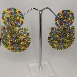 Ladies Wedding Wear Artificial Earrings