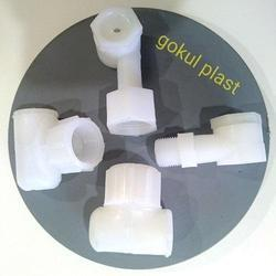 White, Natural Cooling Tower PVC Plastic Nozzles, Size: 15MM TO 25MM