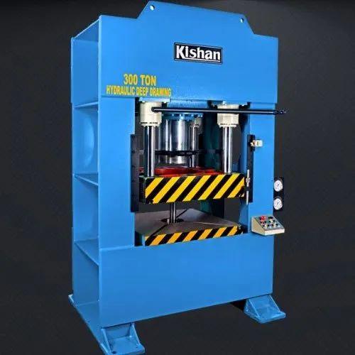 Hydraulic Deep Drawing Press Machine - 300 Ton Hydraulic