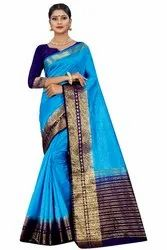 FANCY KANJIVARAM SILK SAREE