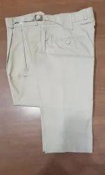 Plain Casual White Designer Trouser