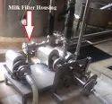 uv milk filter housing