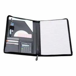 Folder with Calculator
