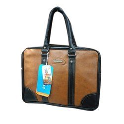 Plain Brown Designer Executive Bag