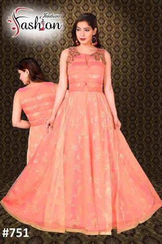 3a5ae73cf6 Ladies Gown - Western Ladies Gown Manufacturer from Delhi