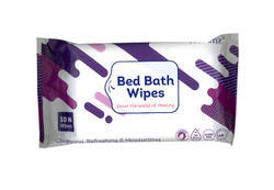 Custom Bed Bath Wipes - Paraben Free, Pack Size: Custom
