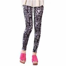 Cotton Ladies Designer Legging, Size: Available In S, M, L, XL, XXL