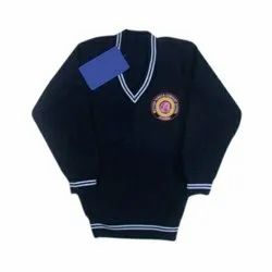 Full Sleeve Woolen School Sweater