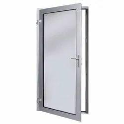 Aluminium Grey Aluminum Bathroom Door