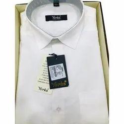 Cotton Plain Mens White Pathani Suit