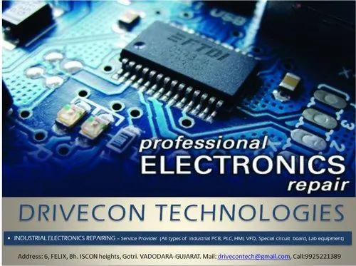 PLC/HMI Repairing Services and Industrial Electronics PCBs Repairing