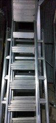 Scaffolding Step Ladder