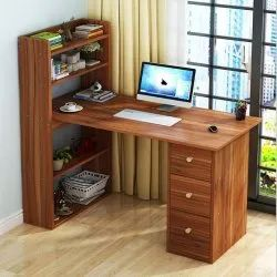 Kawachi Brown Compact Computer Table Laptop Desk Study Table, Warranty: 6 month, Size: Standard