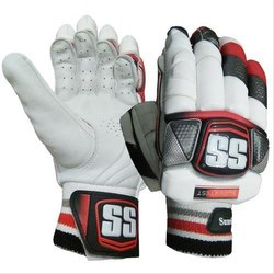Strap Printed Ss Batting Gloves, Size: Medium