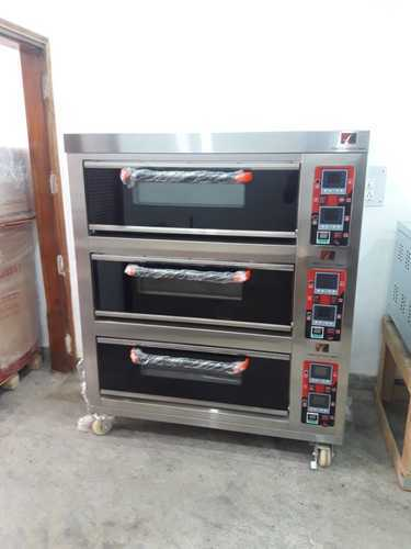 Three Deck Electric Oven