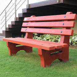 Garden Cement Concrete Bench
