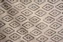 Mudcloth Printed Cotton Rug Handmade Cotton Durries Modern Design Carpets