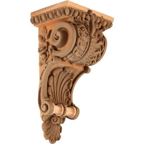 Wooden Carved Corbel Building Panels Cladding Materials