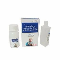 Amoxycillin 200 mg Clavulanic Acid 28.5mg With Sterile Water