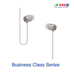 HF 10 Silver Earphone