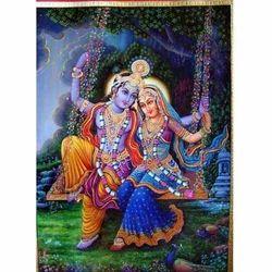 Radha Krishana Painting