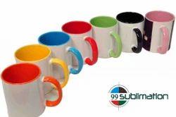 Inner Colour Mug, Size: 11Oz