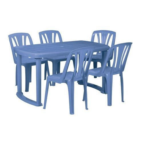 Delightful Plastic Dining Table Set