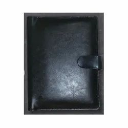 Black Diary With Power Bank