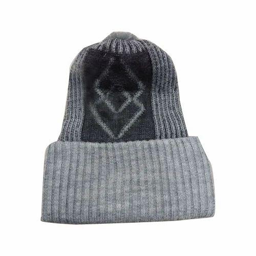 6518045c212 Mens Fancy Woolen Cap