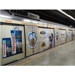 Metro Train Exterior Advertising Service