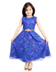 Trendy Girls Gown, Size: 2-10 Years