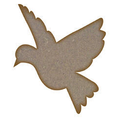 MDF Bird Laser Cutting Service