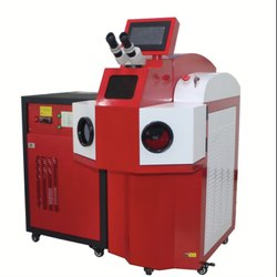 Stainless Steel Jewellery Spot Laser Welding Machine, Automation Grade: Automatic