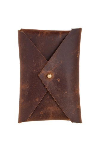MB Exports Brown Small Card Holder