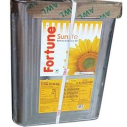 Liquid Fortune Sunlite Refined Oil, Packaging Type: Tin, Packaging Size: 15 litre