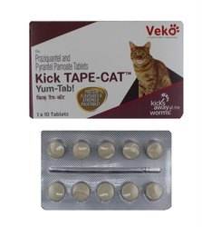 Kick Tape Cat Tablet 10s