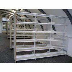 library rack - Metal Library Bookshelves
