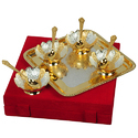 Tradition Silver & Gold Plated Bowl