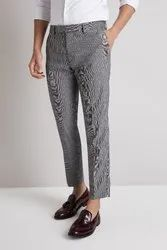 GRS Recycle Cotton Mens Cropped Trousers