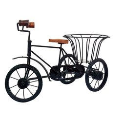 Painting Polished Metal Rickshaw Cycle