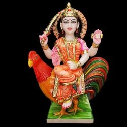 Marble Bahuchara Maa Statue