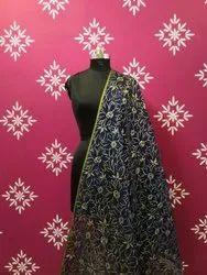 Chanderi Silk Printed Dupatta