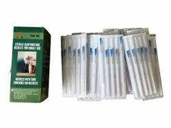Sterile Acupuncture Needles With Guide Tube 0.25 Into 75 Mm 3 Chun