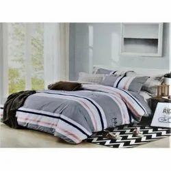 Desi Kapda Printed Double Bed Sheet