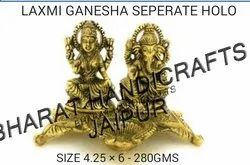 Gold Plated Laxmi Ganesh
