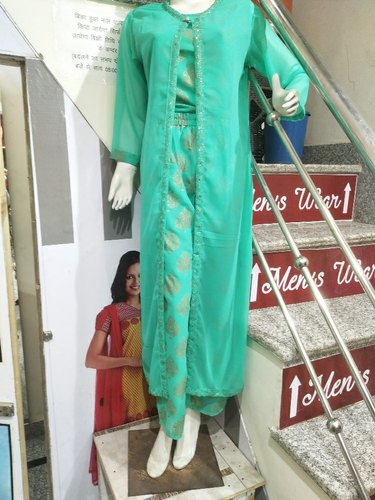 Chiffon Indo Western 3 Peice dress