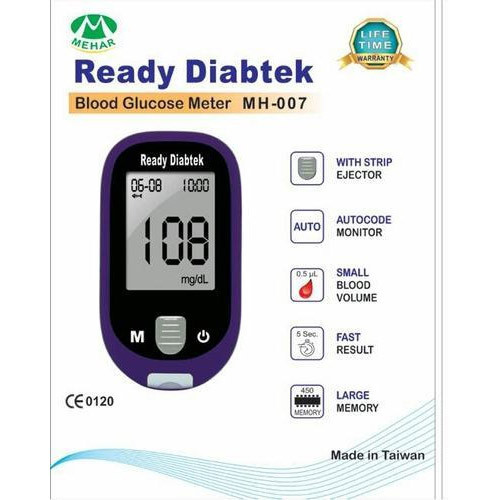 Free Blood Glucose Meter >> Blood Glucose Meter With 25 Strips Free