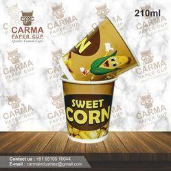 210 ML Sweet Corn Paper Cup