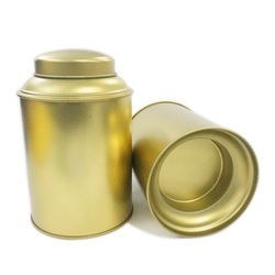 Square Tea Tin Containers, Capacity: 100 and 200 gm